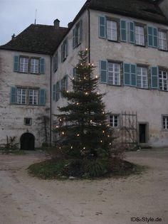 Fränkische Schweiz Winter 2013/2014 Schloßhof Pretzfeld