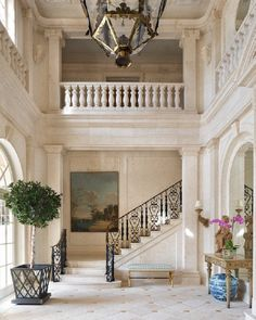 Vendome Press (@vendomepress) • Instagram photos and videos Decor Interior Design, Interior Decorating, Entrance Hall, Picture Design, Beautiful Interiors, Old Houses, Palm Beach, Stairs, House Design
