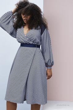 Женская мода: Коллекция Prabal Gurung x Lane Bryant для полных женщин, весна 2017
