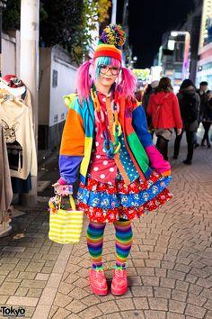 Haruka Kurebayashi Harajuku Rainbow Pinterest Harajuku