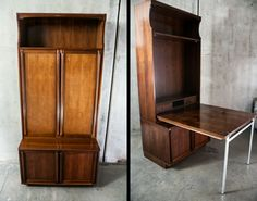 Mid Century Bar Liquor Cabinet Fold out Table MS Mobilstil Italian Vintage Retro #MSMobilstil #MidCentury