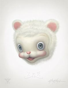 Mark Ryden Signed print from the The Snow Yak Show Special Edition Exhibition Book © Porterhouse Fine Art Editions Mark Ryden, Silk Screen Printing, Sign Printing, Illustrations, Illustration Art, Arte Lowbrow, Magic Realism, Arte Pop, Character Concept