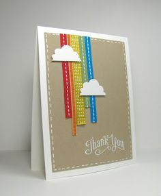 nice people STAMP!: It's a Ribbon Rainbow! Stampin' Up!