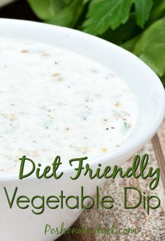 Diet- Friendly  Creamy Onion Dip