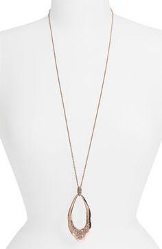 Alexis Bittar 'Miss Havisham' Large Teardrop Pendant Long Necklace (Nordstrom Exclusive) available at Nordstrom