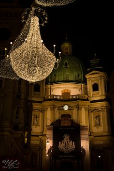 Christmas in Vienna, Austria ~ Karlskirche