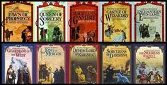 David Eddings. The Belgariad Series and the following Mallorean series! Fantastic fantasy novels!!