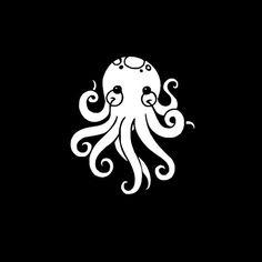 Kawaii Sea Creatures: Cute Happy Octopus by SparkleFartsandArt