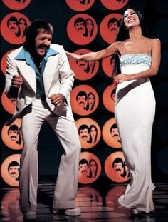The Sonny and Cher Comedy Hour/The Sonny and Cher Show - Sonny exchanged banter with Cher, allowing Cher to put down Sonny in a comic manner.