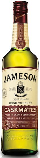 Jameson has announced their newest #Caskmates Irish #whiskey collaboration with a #craftbeer brewer: Jameson Caskmates KelSo Pale Ale Edition.