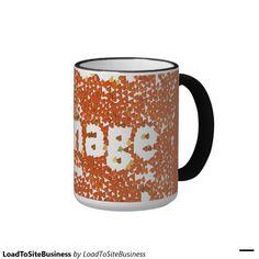 Your Custom 15 oz Ringer Mug http://www.zazzle.com/loadtositebusiness_mug-168246267721291508