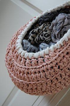 Hanging Basket Crochet - Tutorial ❥ 4U // hf