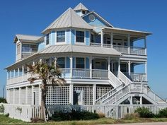 26 best galveston beach houses images beach cottages beach front rh pinterest com