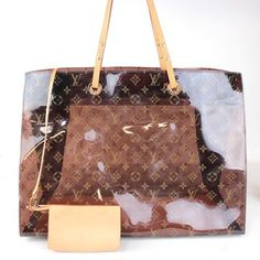 Louis Vuitton Cabas Sac Ambre Limited Edition Beach Pool Purse. Vinyl Monogram Canvas Tote Bag. Get one of the hottest styles of the season! The Louis Vuitton Cabas Sac Ambre Limited Edition Beach Pool Purse. Vinyl Monogram Canvas Tote Bag is a top 10 member favorite on Tradesy. Save on yours before they're sold out!