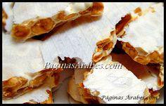 El Turrón,un dulce de origen árabe.