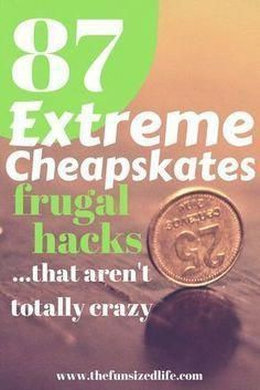 Extreme Cheapskates Money Hacks That Are Pretty Normal These Extreme Cheapskates frugal living hacks are actually ones you might try at home to save money!These Extreme Cheapskates frugal living hacks are actually ones you might try at home to save money! Ways To Save Money, Money Tips, Money Saving Tips, Money Hacks, Mo Money, Frugal Living Tips, Frugal Tips, Living On A Budget, Simple Living