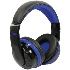 Billboard Bluetooth Over-ear Foldable Headphones With Microphone (blue)  #Qualitycds #Affordableipads #Affordabledvds #Affordablebooks #ADLE #Usedbooksworld