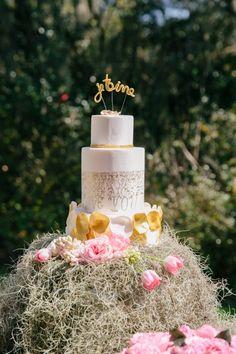 DeClare Cakes Charleston SC Wedding Cake Naked cake Natural