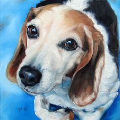 BedroomEyes CUSTOM Oil Portrait Painting by by puciPetPortraits, $167.00