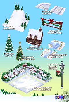Countryside Christmas COMPLETE SET