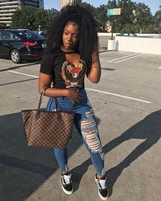 Outfits for black girls, dope fall outfits, everyday outfits, teen swag out Dope Fall Outfits, Fall College Outfits, Everyday Outfits, Outfits For Teens, Summer Outfits, Casual Outfits, Girl Outfits, Fashion Outfits, Casual Clothes