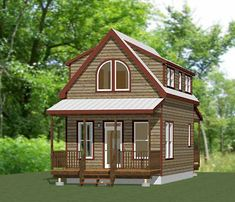 Tiny Romantic Cottage House Plan Cozy Cottage House