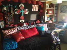 Dorm Room in Stangel Good colors.