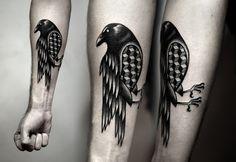 Powerful And Bold: Mesmerizing Black Ink Tattoos - DesignTAXI.com