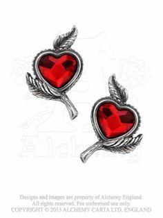 Alchemy Gothic Love's Blossom Pair of Earrings (E338) Alchemy Gothic http://www.amazon.co.uk/dp/B00INWVOKW/ref=cm_sw_r_pi_dp_uI9uub18W7JS2