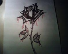 rosas negras para dibujar  Buscar con Google  danielis