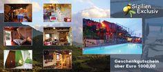 Ferienhaus-Geschenkgutschein - mehr Infos: http://sizilien-exclusiv.de/ferienhaus-gutschein/