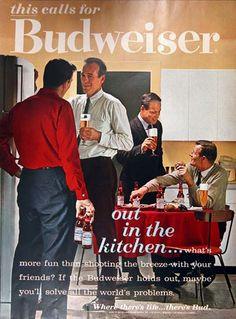 classic advertising slogans | 1962 Budweiser #000923