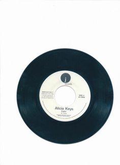 "ALICIA KEYS 2001 ""Fallin"" J Records 45 Rpm Free S/H USA"