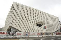 """© Gary Leonard The final exterior scaffolding has been removed from Diller Scofidio + Renfro's """"The Broad""""in downtown Los Angeles, revealing its"""