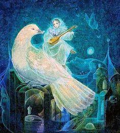 Bird Lyre ~ Susan Seddon Boulet