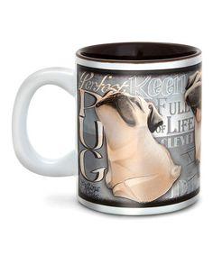 Loving this Pug Mug on #zulily! #zulilyfinds