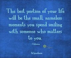 The best portion of your life..... by connie