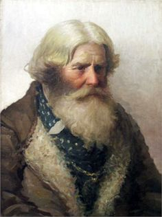 Portrait of a Peasant - Nikolay Bogdanov-Belsky