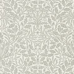 The Original Morris & Co - Arts and crafts, fabrics and wallpaper designs by William Morris & Company | Products | British/UK Fabrics and Wallpapers | Pure Acorn (DMPU216042) | Pure Wallpapers