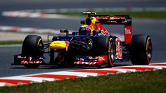 2012 Red Bull RB8 - Renault (Mark Webber)