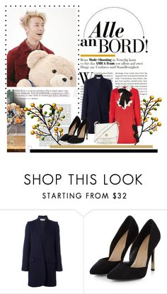 """292. Donghae"" by staycloudyornah ❤ liked on Polyvore featuring STELLA McCARTNEY, VIVETTA and Tory Burch"
