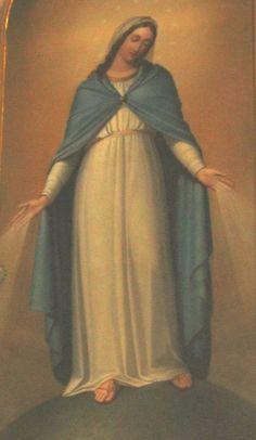 unbefleckte Empfängnis, Bild in der Kirche Ss. Nome di Maria in Rom