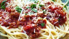 World's Best Pasta Sauce! Homemade Spaghetti Meat Sauce, Spagetti Sauce, Best Spaghetti Sauce, Spaghetti Dinner, Italian Recipes, Beef Recipes, Cooking Recipes, Pasta Recipes, Pasta Meals