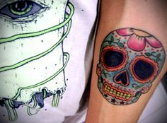 Sugar Skull #sugar #skull #tattoo