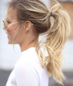 { flirty ponytail }