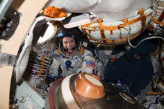 NASA Astronaut Kate Rubins Prepares For the Journey Home via...