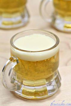 Beer and tequilla jello shots