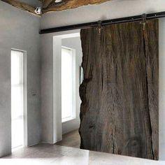 Internal Sliding Doors Into Wall Internal Sliding Doors, Sliding Wood Doors, Sliding Door Design, Sliding Closet Doors, Wooden Doors, Front Doors, Entry Doors, Patio Doors, Porte Design