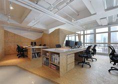Una oficina no es solo un espacio de trabajo, es una estancia donde diferentes personas conviven durante 8 horas al día para alcanzar objetivos comunes, es decir, hay que crear un entorno cómodo  que potencie la creatividad y el trabajo en grupo. http://www.espaciosvives.es/blog/entrada/diseno_trabajar_oficinas_hong_kong