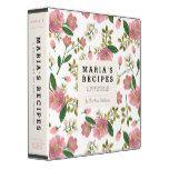 """Mom's Recipe Binder - Blush Bouquet -                                    Mom's Recipe Binder – Blush Bouquet   $  22.00  by origamiprints    mothers day: Zazzle.com Store: Matching """"mothers day""""  http://47beauty.com/moms-recipe-binder-blush-bouquet/"""